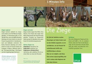 Die Ziege - information.medien.agrar eV