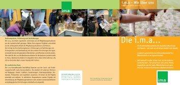 Die i.m.a… - information.medien.agrar eV