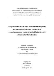 Vergleich der 24 h Plaque Formation Rate (PFR ... - OPUS Würzburg