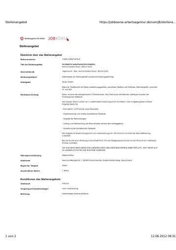 Architekt/in - BYTEC Bodry Technology GmbH