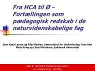 Fra HCA til Ø - Syddansk Universitet