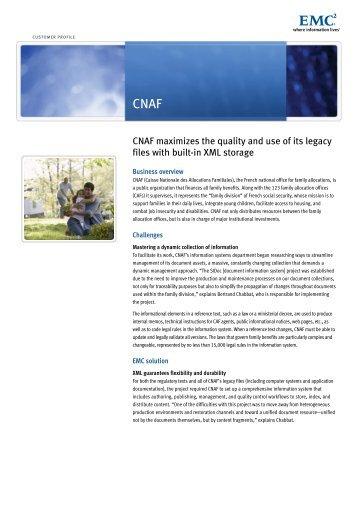 H4782 CNAF Customer Profile