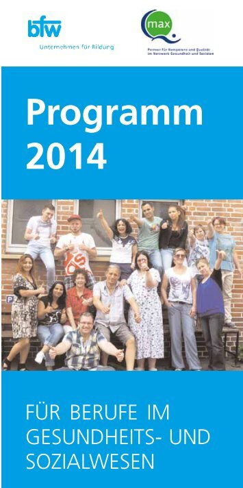 Programm 2014 - bfw