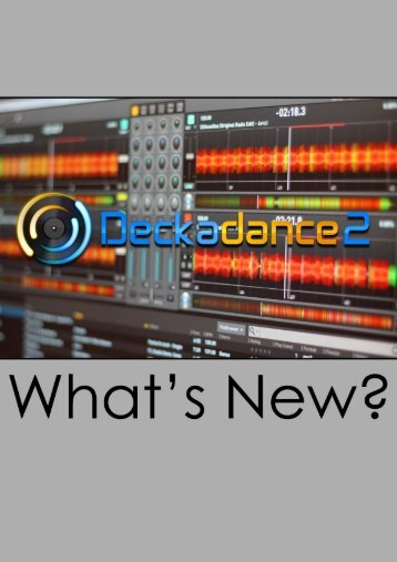 Deckadance What's New? (print version) - Image-Line