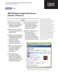 IBM WebSphere Application Server - Image Access Corporation