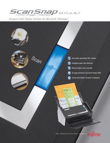 Scanner Brochure - Image Access Corporation