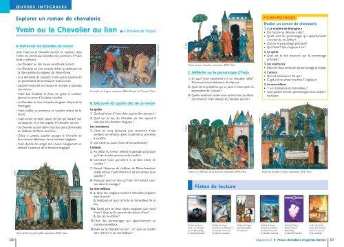 Yvain Ou Le Chevalier Au Lion Chretien De Troyes Hachette