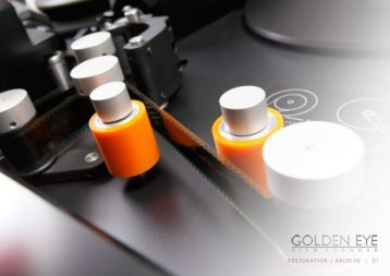 Golden Eye Control Software - Image Systems