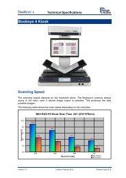 Bookeye ® 4 V2 Kiosk Technical Specification - Image Access GmbH