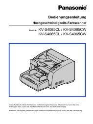 KV-S4085CW_Bedienungsanleitung.pdf - ImageWare Austria GmbH