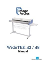 Operations Manual - Image Access Inc.