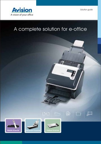A complete solution for e-office - ImageWare Austria GmbH