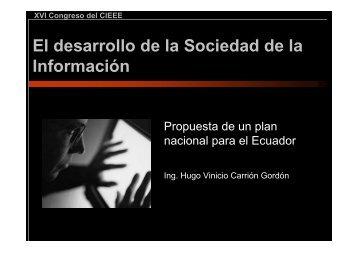 Plan de la Sociedad de la Información - Imaginar
