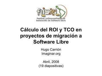 Calculo del ROI y TCO en proyectos de migración a ... - Imaginar