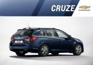 Download Cruze Wagon Katalog - Chevrolet