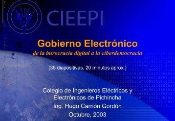 Gobierno Electrónico - Imaginar
