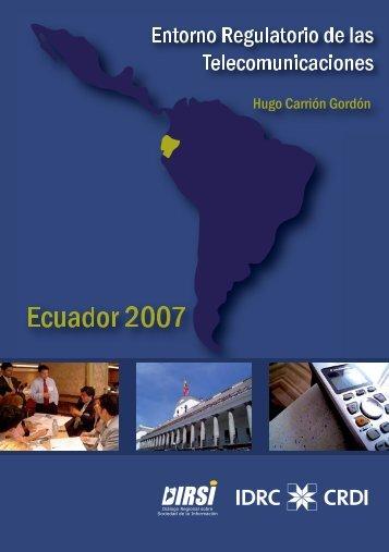 Ecuador 2007 - Imaginar