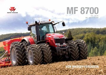 von massey ferguson mf 8700 - Austro Diesel GmbH