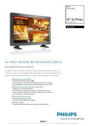 BDL4225E/00 Philips Monitor LCD - imaginArt