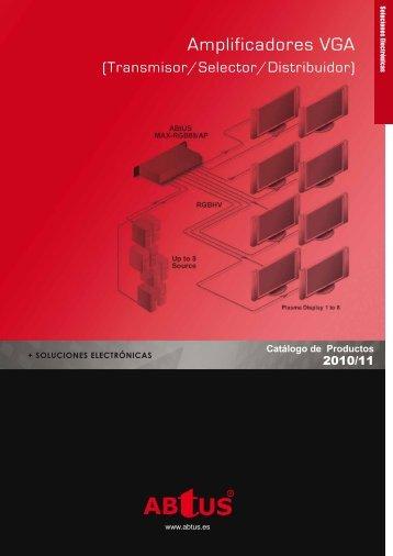 Descargar pdf Dispositivos DVI/VGA Abtus - imaginArt