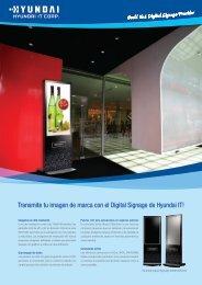 Transmite tu imagen de marca con el Digital Signage de ... - imaginArt