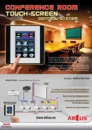 Tríptico Abtus: Controladores y Dispositivos - imaginArt
