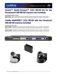 342-0498-CCU-Kit-and.. - Vaddio