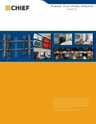 Fusion™ Flat Panel Mounts - imaginArt