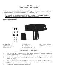 PAC150 INSTALLATION INSTRUCTIONS - imaginArt