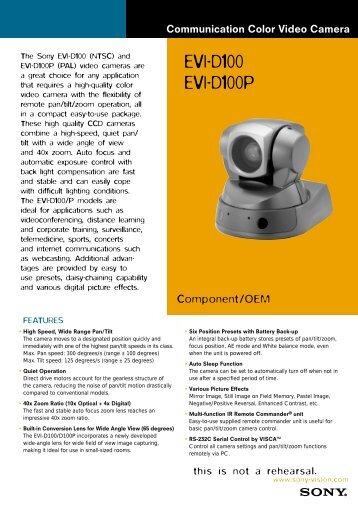 EVI-D100 EVI-D100P - imaginArt