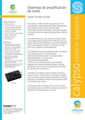 Productos amplificacion de audio - imaginArt