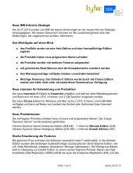 Neue IBM Informix Strategie Das Wichtigste auf einen Blick Neue ...
