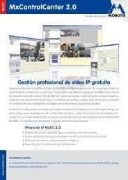 Software Mobotix: MxCC, MxEasy - imaginArt