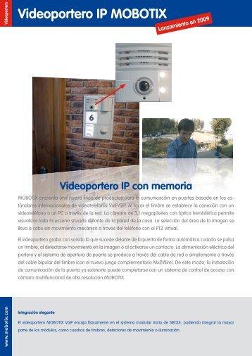 Videoportero IP con memoria - imaginArt
