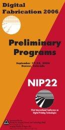 DF2006-NIP22 Prelim Prog - Society for Imaging Science and ...