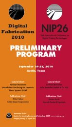 DF-NIP Prelim - Society for Imaging Science and Technology
