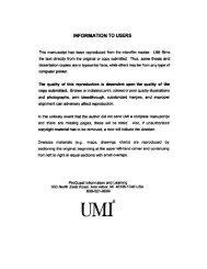 INFORMATION TO USERS - ImagoMundi