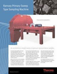 Ramsey Primary Sweep Type Sampling Machine