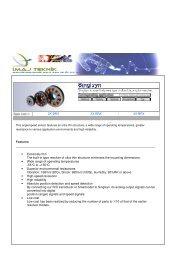2X-BRX 3X-BRX 4X-BRX Features • Extremely thin ... - İmaj Teknik
