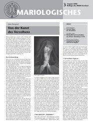 PDF (2.3 MB) - Internationaler Mariologischer Arbeitskreis Kevelaer