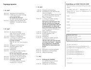 Tagungsprogramm - Internationaler Mariologischer Arbeitskreis ...