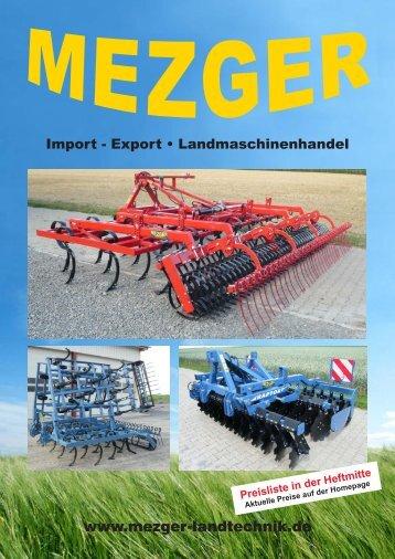 Gesamtprospekt - Mezger