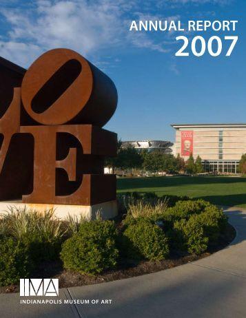 annual report - Indianapolis Museum of Art