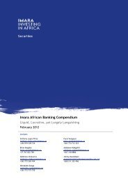 Imara African Cement Report Africa, the last cement frontier Imara ...