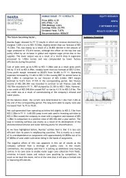EQUITY RESEARCH KENYA 3 SEPTEMBER 2012 ... - Imara