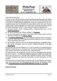 Phila-Post - Briefmarkensammler-Verein Kevelaer eV