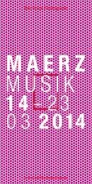 Flyer MaerzMusik 2014 [PDF, 3.6 MB] - Berliner Festspiele