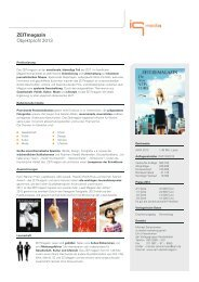 ZEITmagazin - Keyfacts - IQ media marketing