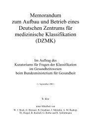 Memorandum im DIN A4-Format ( PDF , 81 kB ) - DIMDI