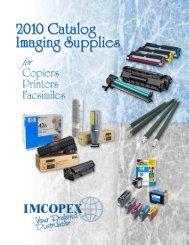 Imcopex 2010 Catalog - Imcopex America